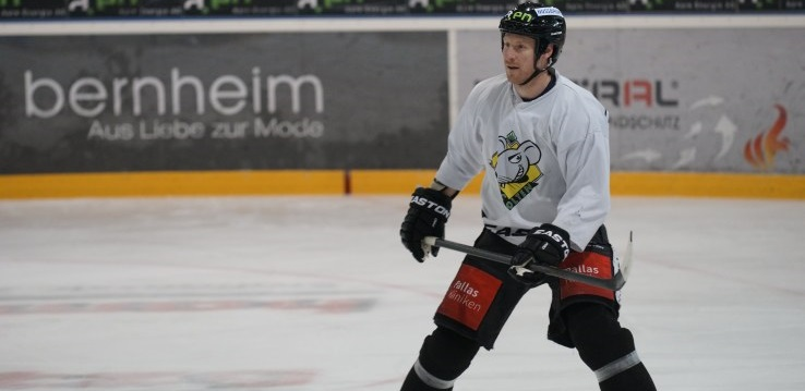 Beaudoin im Try-Out beim EHCO